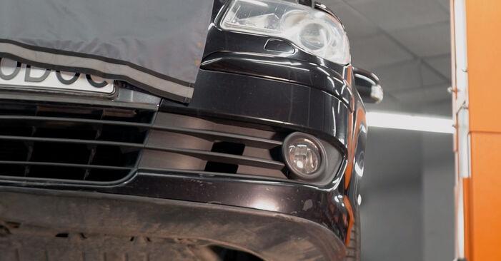Wie VW TOURAN 1.6 FSI 2007 Ölfilter ausbauen - Einfach zu verstehende Anleitungen online