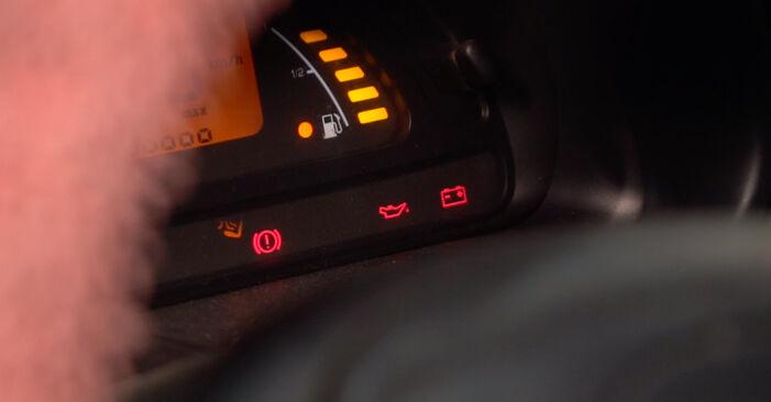 αλλαγη Φίλτρο λαδιού CITROËN C3 1.4 HDi: online οδηγοί και βίντεο tutorial