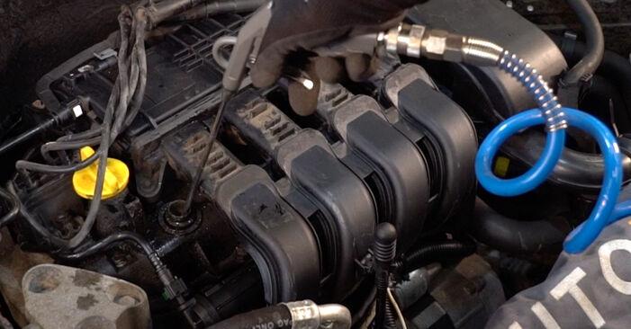 Как да демонтираме RENAULT CLIO 1.4 2002 Запалителна свещ - онлайн лесни за следване инструкции