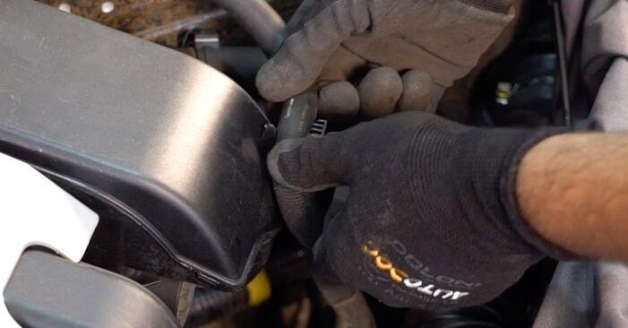 Remplacer Filtre à Air sur Renault Clio 2 2008 1.2 par vous-même