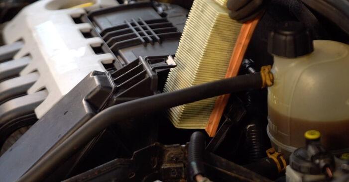 À quel point est-il difficile de le faire soi-même : télécharger le guide illustré pour le changement de Filtre à Air sur Renault Clio 2 1.6 16V 2004