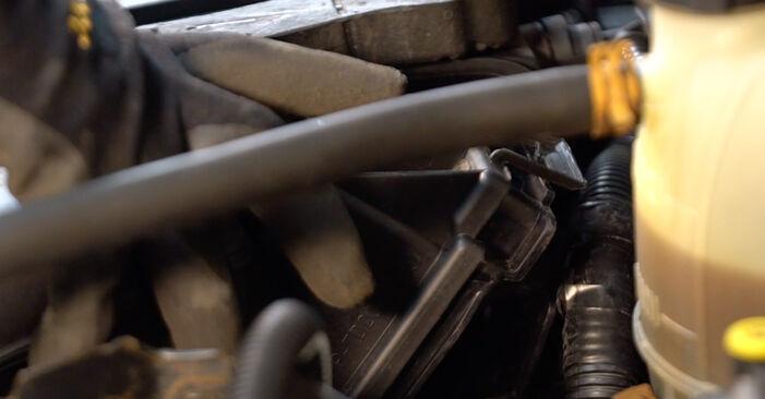 Combien de temps dure le remplacement : Filtre à Air sur Renault Clio 2 2006 - manuel PDF informatif