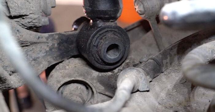Stoßdämpfer Ihres Audi A4 B6 Avant 1.9 TDI 2001 selbst Wechsel - Gratis Tutorial