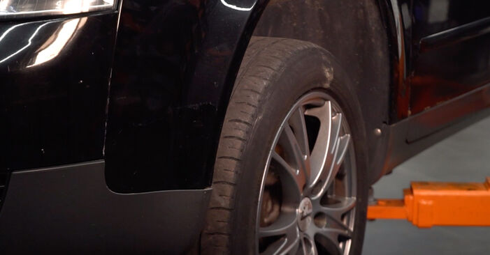 Austauschen Anleitung Ölfilter am Audi A4 B6 Avant 2003 1.9 TDI selbst