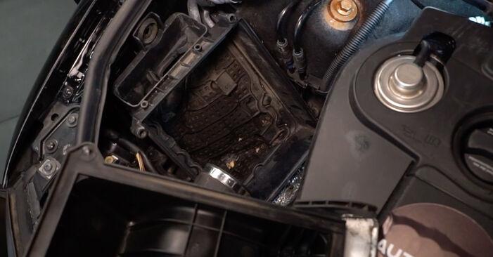 A4 Avant (8E5, B6) 2.5 TDI 2004 2.5 TDI quattro Luftfilter - Handbuch zum Wechsel und der Reparatur eigenständig
