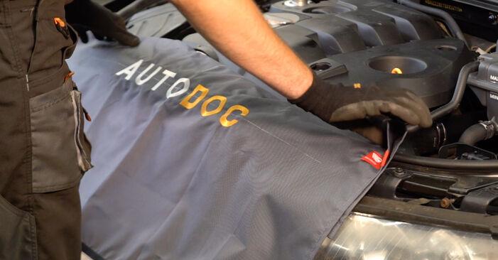 Wie Luftfilter AUDI A4 Avant (8E5, B6) 2.5 TDI quattro 2002 austauschen - Schrittweise Handbücher und Videoanleitungen