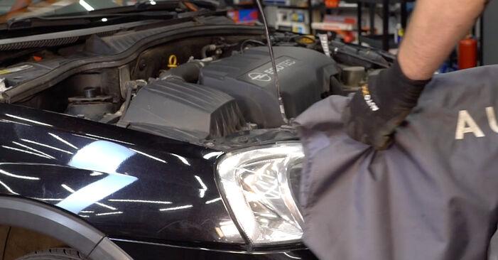 Austauschen Anleitung Stoßdämpfer am Opel Corsa C 2000 1.2 (F08, F68) selbst