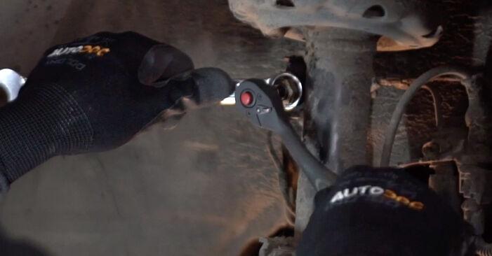 Wie schwer ist es, selbst zu reparieren: Koppelstange Opel Corsa C 1.7 DI (F08, F68) 2006 Tausch - Downloaden Sie sich illustrierte Anleitungen