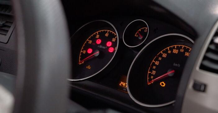 Стъпка по стъпка препоруки за самостоятелна смяна на Opel Zafira B 2007 1.6 CNG (M75) Маслен филтър