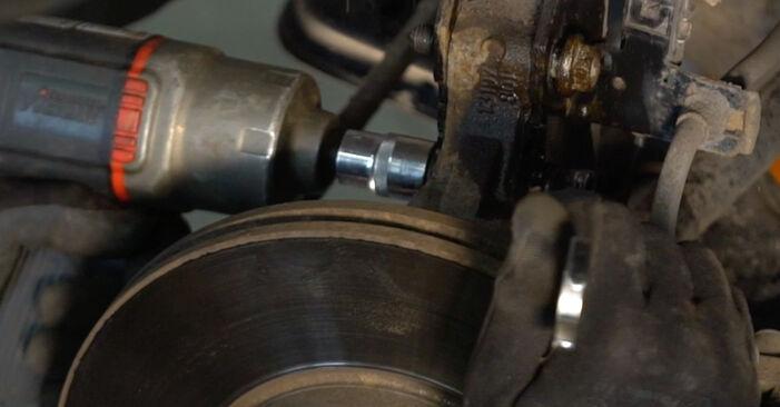 Wie Stoßdämpfer Opel Zafira B 1.9 CDTI (M75) 2005 tauschen - Kostenlose PDF- und Videoanleitungen