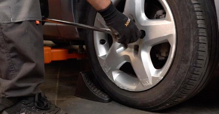 Stoßdämpfer Ihres Opel Zafira B 1.7 CDTI (M75) 2013 selbst Wechsel - Gratis Tutorial