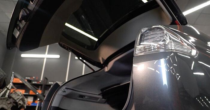 Wie Stoßdämpfer Lexus RX XU30 3.3 400h AWD 2003 tauschen - Kostenlose PDF- und Videoanleitungen
