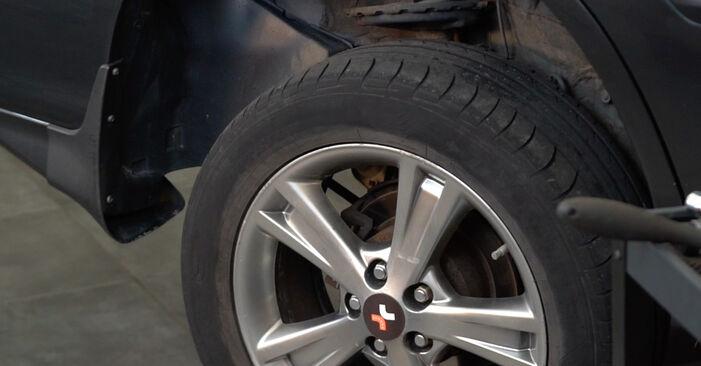Koppelstange Lexus RX XU30 3.3 400h 2005 wechseln: Kostenlose Reparaturhandbücher