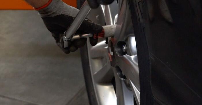 Смяна на Lexus RX XU30 3.0 2005 Свързваща щанга: безплатни наръчници за ремонт