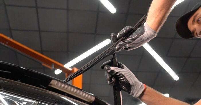 Lexus RX XU30 3.0 2005 Valytuvo gumelė keitimas: nemokamos remonto instrukcijos