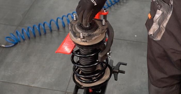 Stoßdämpfer Toyota Auris e15 1.6 (ZRE151_) 2008 wechseln: Kostenlose Reparaturhandbücher