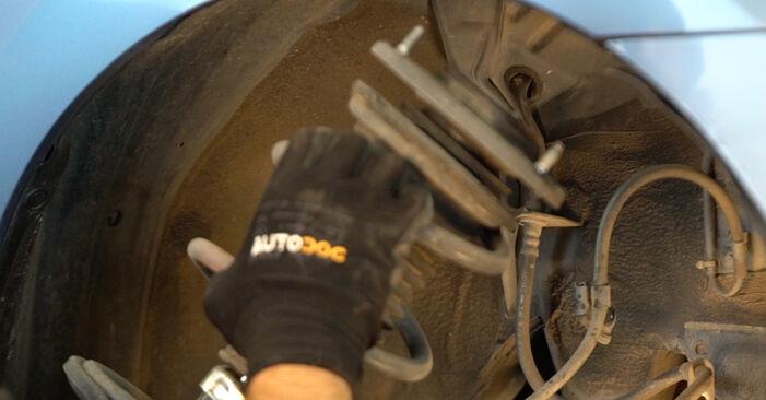 PRIUS Liftback (NHW20_) 1.5 (NHW2_) 2007 1.5 Hybrid (NHW2_) Stoßdämpfer - Handbuch zum Wechsel und der Reparatur eigenständig