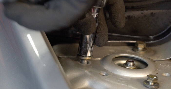 Changing Shock Absorber on VOLVO V50 (545) 2.4 2006 by yourself
