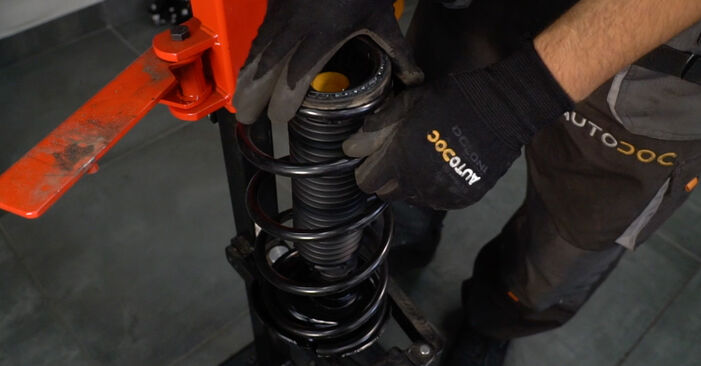 VOLVO V50 2.0 D Shock Absorber replacement: online guides and video tutorials