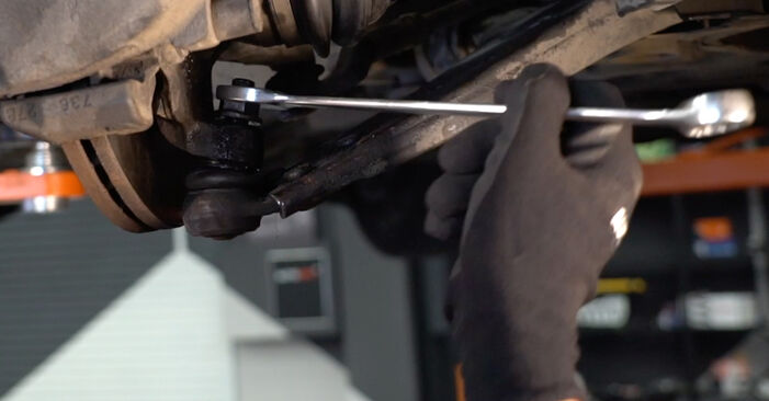 Replacing Shock Absorber on Volvo V50 545 2003 2.0 D by yourself