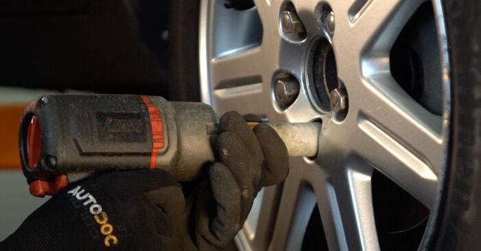 Volvo v50 mw 1.6 D 2005 Pasukimo trauklė keitimas: nemokamos remonto instrukcijos