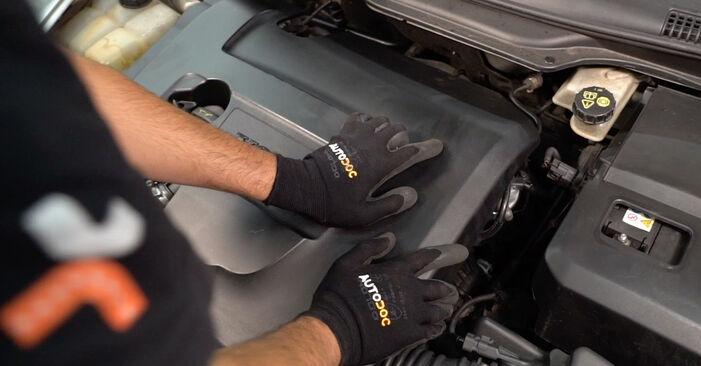 Ölfilter Volvo V50 Kombi 1.6 D2 2005 wechseln: Kostenlose Reparaturhandbücher