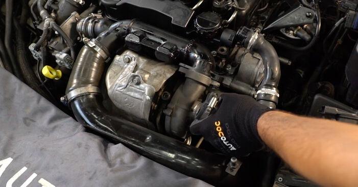 Ölfilter Ihres Volvo V50 Kombi 2.0 D 2011 selbst Wechsel - Gratis Tutorial