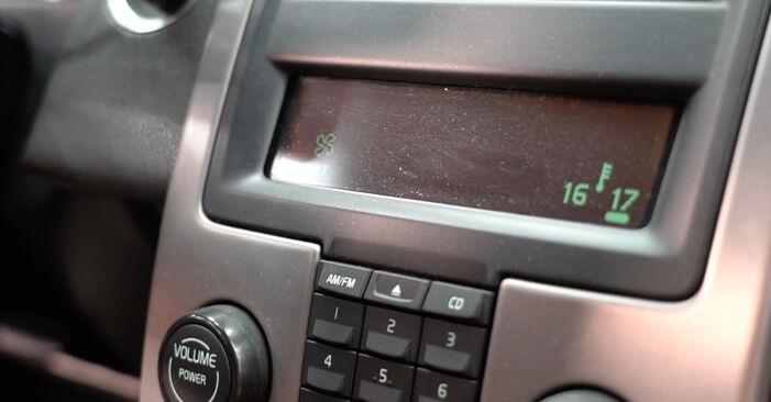 Смяна на Филтър купе на Volvo v50 mw 2003 2.0 D самостоятелно