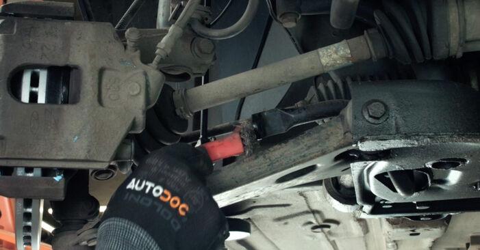 Hvordan skifte Stabilisatorstag på FORD Fiesta Mk5 Hatchback (JH1, JD1, JH3, JD3) 2003 – tips og triks