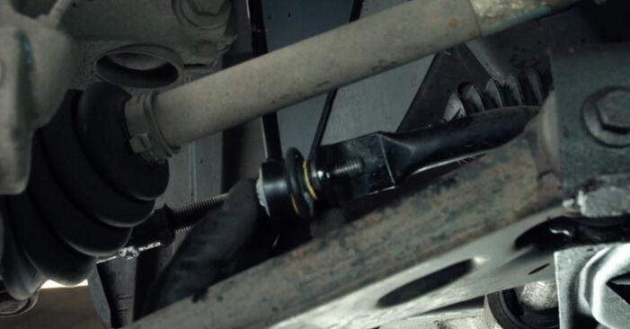 Trinn-for-trinn anbefalinger for hvordan du kan bytte Ford Fiesta Mk5 2004 ST150 2.0 Stabilisatorstag selv