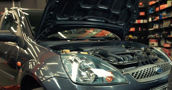 Kaip pakeisti Oro filtras la Ford Fiesta Mk5 2001 - nemokamos PDF ir vaizdo pamokos
