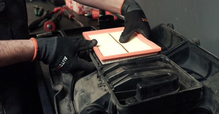 Kaip pakeisti FORD Fiesta Mk5 Hatchback (JH1, JD1, JH3, JD3) 2003 Oro filtras - patarimai ir gudrybės