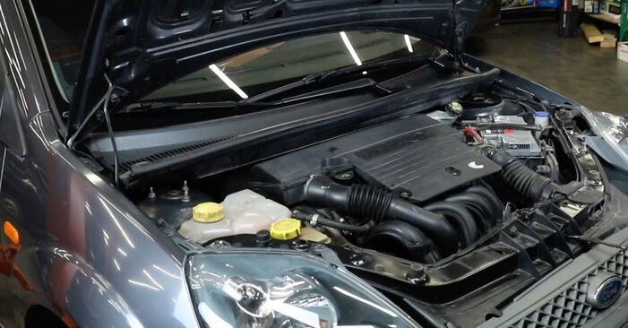 Ar sudėtinga pasidaryti pačiam: Ford Fiesta Mk5 1.6 16V 2007 Oro filtras keitimas - atsisiųskite iliustruotą instrukciją