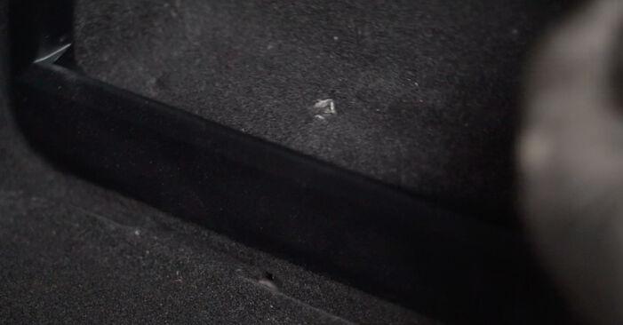 Stoßdämpfer Mercedes W245 B 170 1.7 (245.232) 2007 wechseln: Kostenlose Reparaturhandbücher