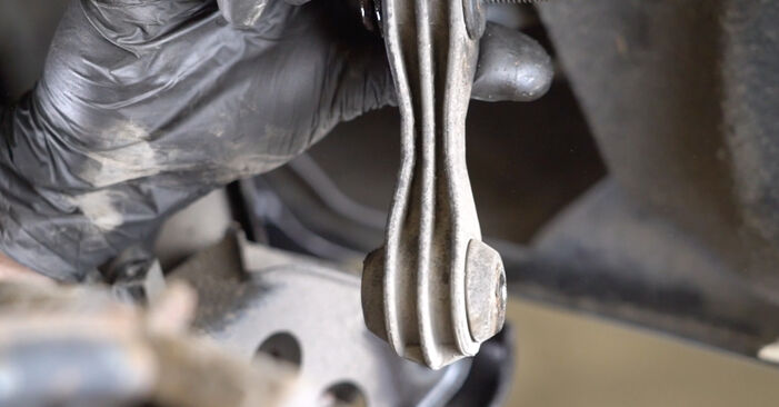 Changing of Anti Roll Bar Links on Mercedes W245 2006 won't be an issue if you follow this illustrated step-by-step guide