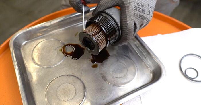Come cambiare Filtro Olio su MERCEDES-BENZ Classe B (W245) 2010 - suggerimenti e consigli