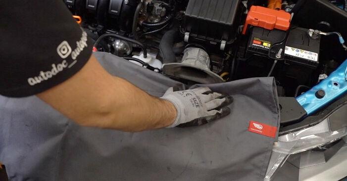 Wie Luftfilter HONDA INSIGHT (ZE_) 1.3 Hybrid (ZE2) 2010 austauschen - Schrittweise Handbücher und Videoanleitungen