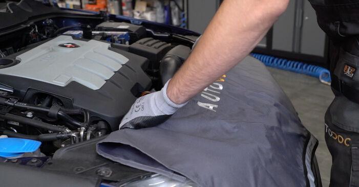 Så byter du VW Passat Variant (3C5) 2.0 TDI 2006 Fjädrar – manualer och videoguider att följa steg för steg