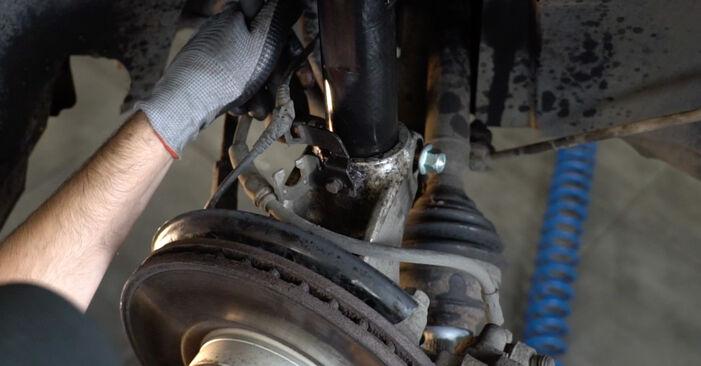 VW PASSAT 2005 Fjädrar utbytesmanual att följa steg för steg