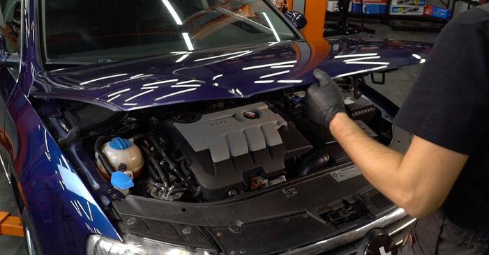 Kraftstofffilter Passat B6 Variant 1.9 TDI 2007 wechseln: Kostenlose Reparaturhandbücher