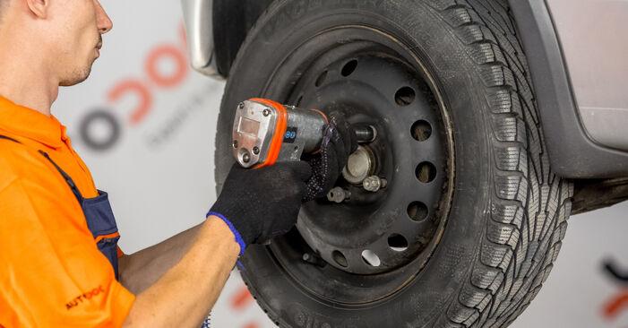 Bremsbacken beim OPEL CORSA 1.8 (F08, F68) 2007 selber erneuern - DIY-Manual