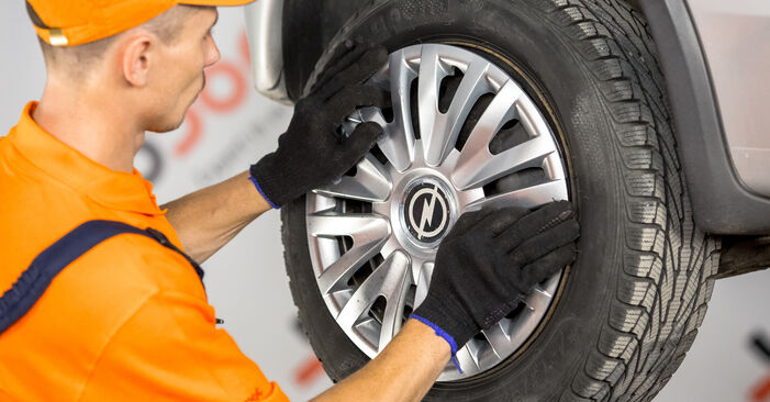 Bremsbacken Ihres Opel Corsa C 1.4 Twinport (F08, F68) 2008 selbst Wechsel - Gratis Tutorial