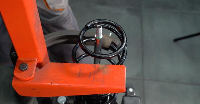 Stoßdämpfer beim PEUGEOT 107 1.4 HDi 2012 selber erneuern - DIY-Manual