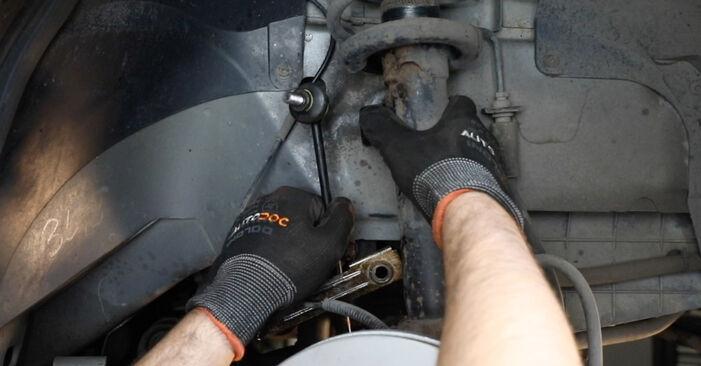 Bytte Fiesta Mk5 Hatchback (JH1, JD1, JH3, JD3) ST150 2.0 2002 Støtdemper – gjør det selv med vår veiledning