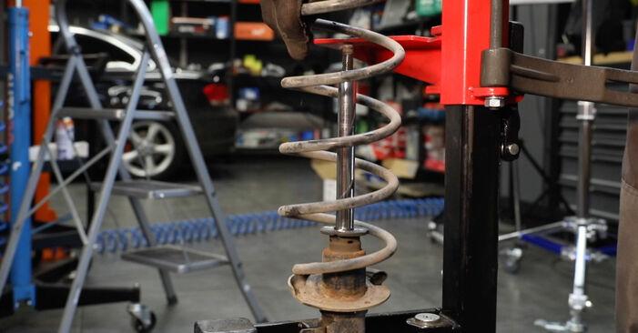 Vanskelighetsgrad: Bytte av Støtdemper på Ford Fiesta Mk5 1.6 16V 2007 – last ned illustrert veiledning