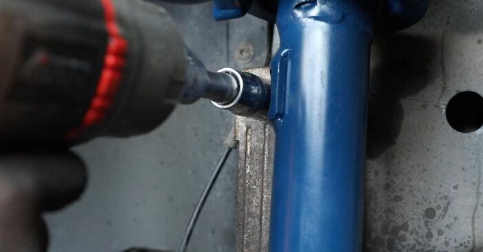 Hvordan skifte Støtdemper på Ford Fiesta Mk5 2001 – gratis PDF- og videoveiledninger