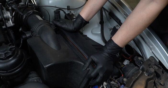 Luftfilter Ihres BMW E39 540i 4.4 2003 selbst Wechsel - Gratis Tutorial