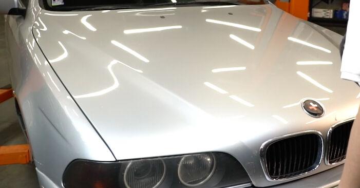 Kaip pakeisti Oro filtras, keleivio vieta la BMW E39 1995 - nemokamos PDF ir vaizdo pamokos