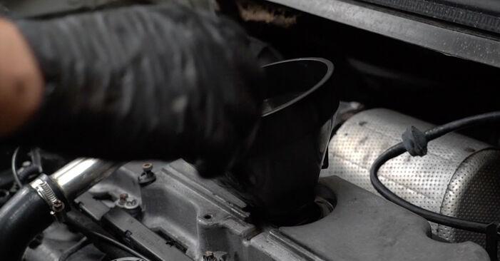OPEL ZAFIRA 1999 Ölfilter Schrittweise Anleitungen zum Wechsel von Autoteilen