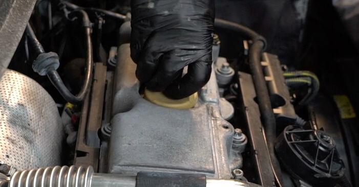 Ersetzen Sie Ölfilter am Opel Zafira A 2002 2.0 DTI 16V (F75) selbst